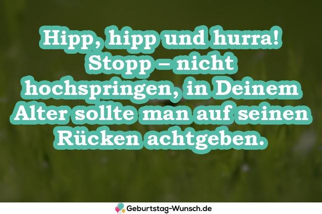 Hipp, hipp und hurra