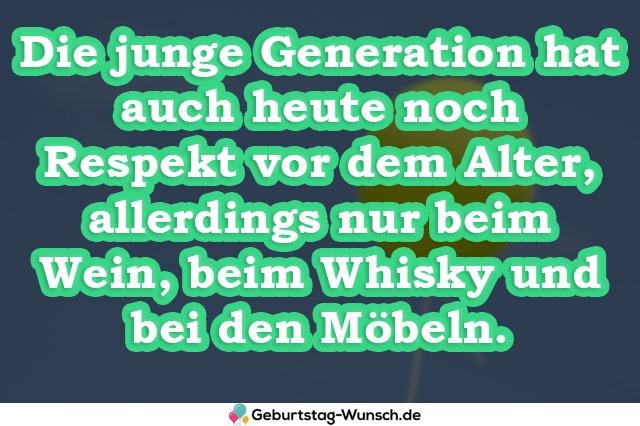 Die junge Generation hat auch heute