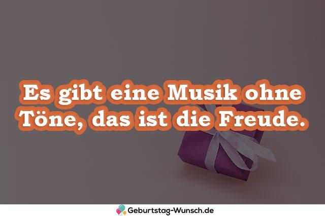 Es gibt eine Musik ohne