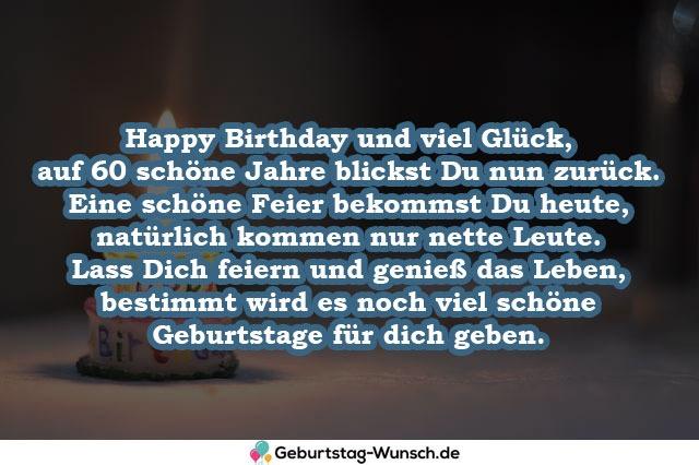 Happy Birthday und viel Glück,