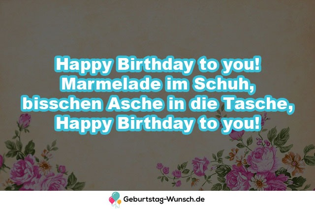 Happy Birthday to you!  Marmelade