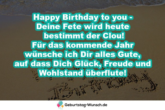 Happy Birthday to you – Deine