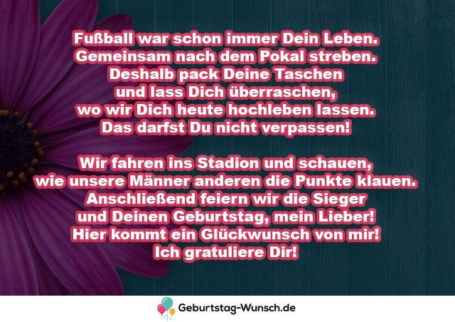 Fußball war schon immer Dein