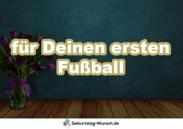 für Deinen ersten Fußball
