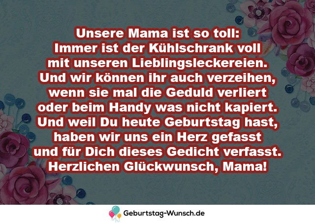 Unsere Mama ist so toll: